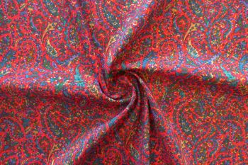 Clarksville Paisley - Ruby
