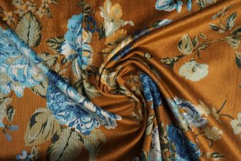 Floral Rennainssance - Old Gold