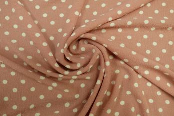 Tea Party Polka - Candy Pink